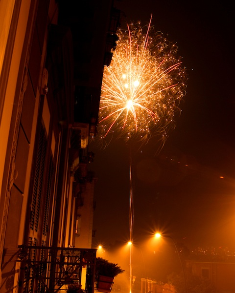 New Years Eve Naples Italy 2009/2010