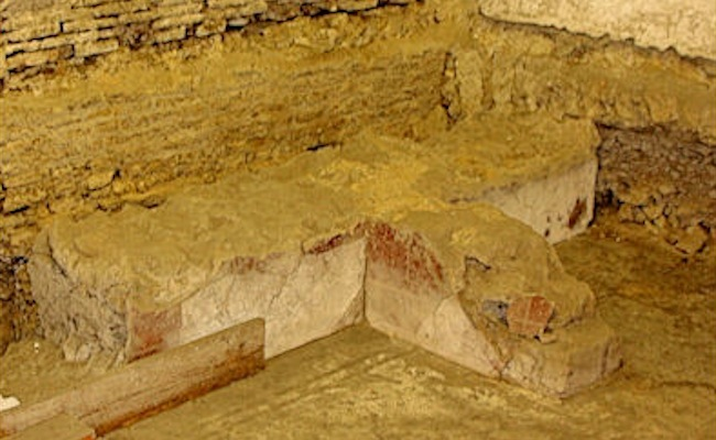 Roman Domus under the Historic Archives of the Bank of Naples