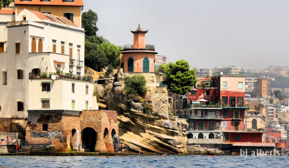 Villa Roccaromana and Mazziotti Naples Italy