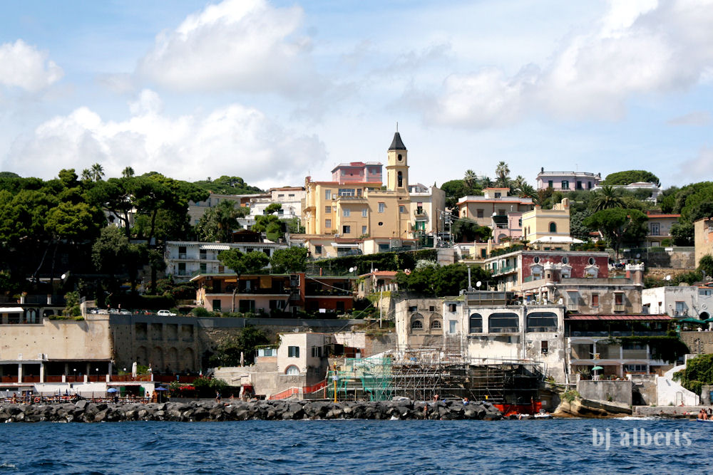 Marechiaro and Santa Maria del Faro Naples Italy