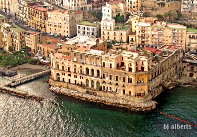 Palazzo Donn'Anna Naples Italy