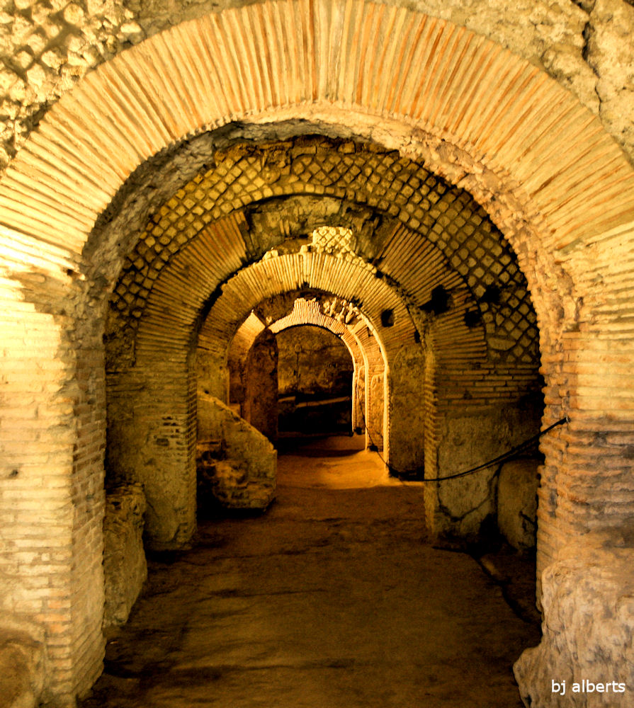 Archaeological Area at San Lorenzo Maggiore Naples Italy