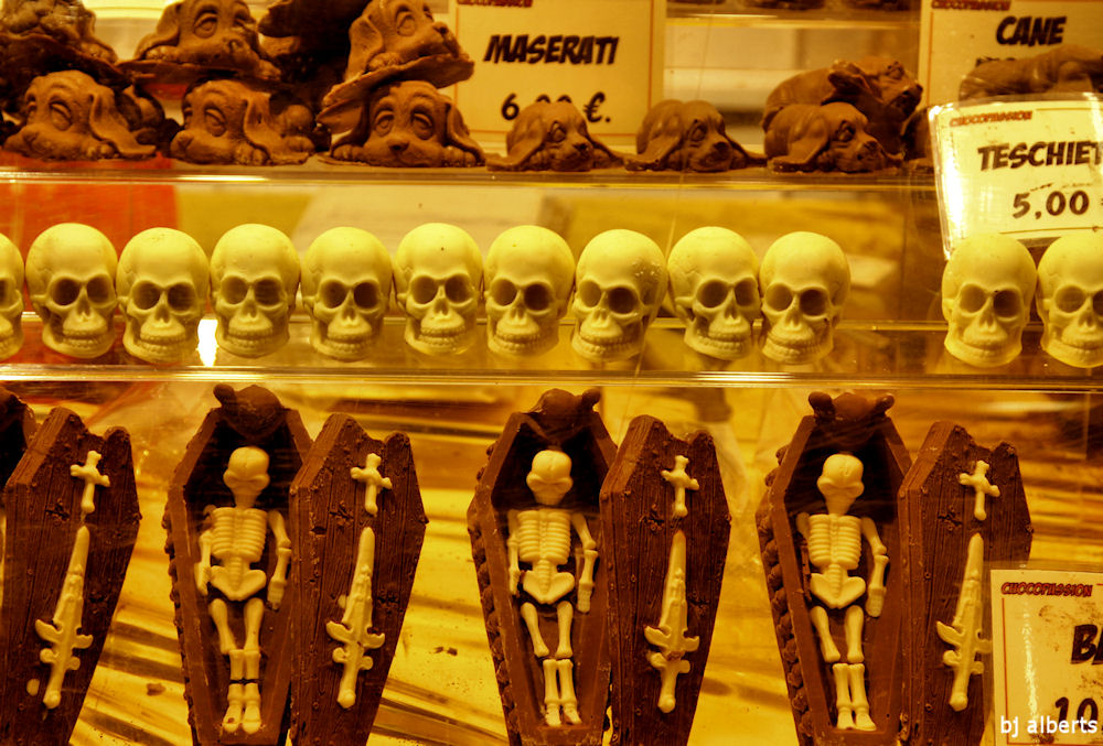 Skeletons Showcolate 2010 Naples Italy