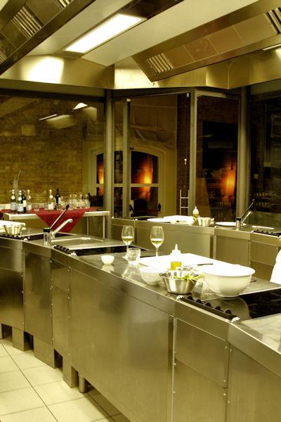 Gambero Rosso Kitchen Naples Italy