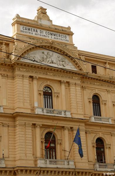 Palazzo della Borsa Naples, Italy