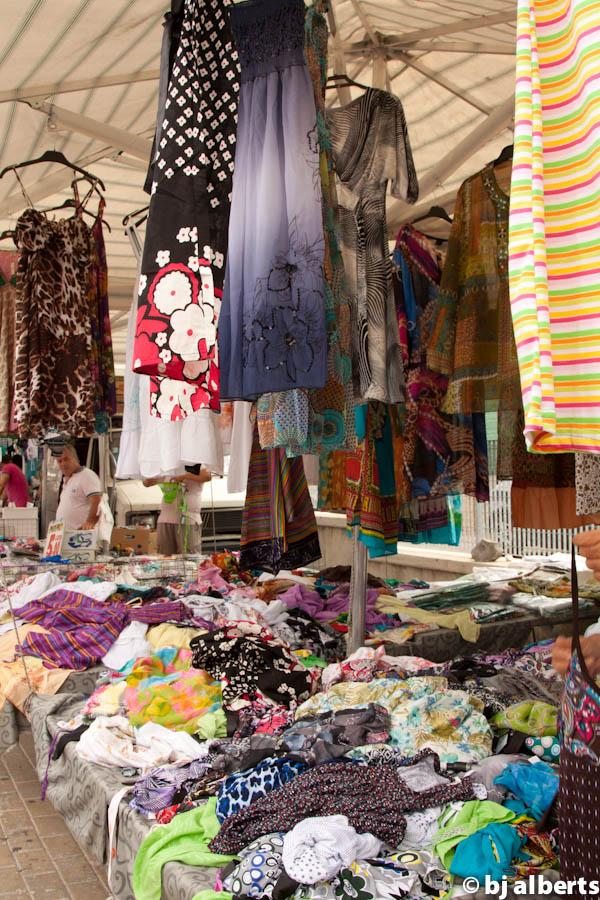 Fuorigrotta Market, Naples, Italy