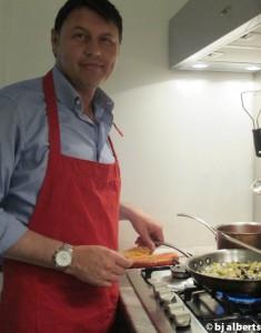 Cooking with Giuseppe - Melanzane al Funghetti