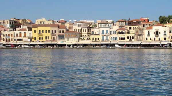 The Venetian Harbor, Chania Crete