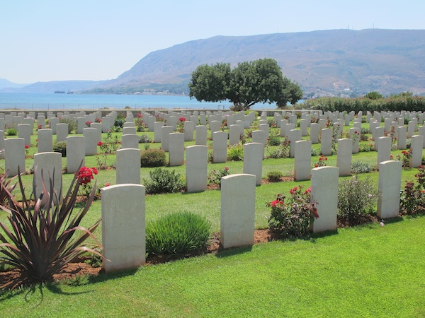 Souda Bay War Cemetery, Chania, Crete