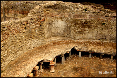 Archaeological Thermal Bath Complex at Via Terracina - Solarium