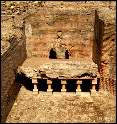 Archaeological Thermal Bath Complex at Via Terracina - The Cadarium