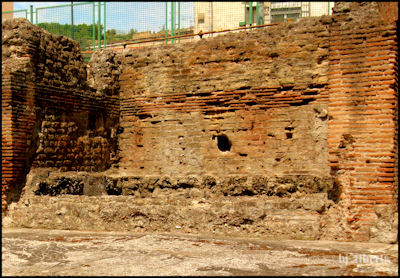 Archaeological Thermal Bath Complex at Via Terracina - The Rectangular Bath in the Frigidarium