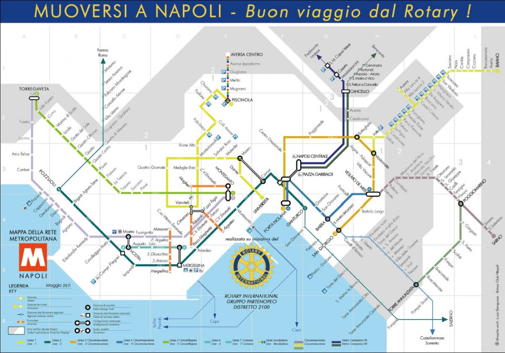 Naples Consolidated Metro Map