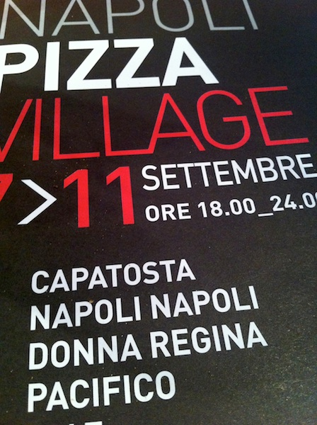Napoli Pizza Village 2011 Exhibitors