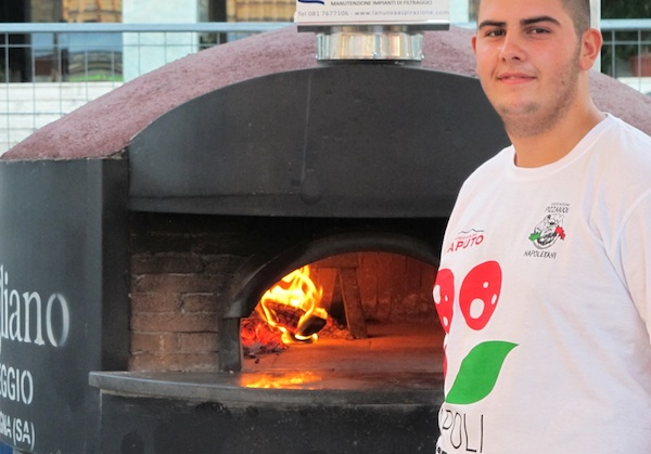 Pizzaiolo at Napoli Pizza Village 2011