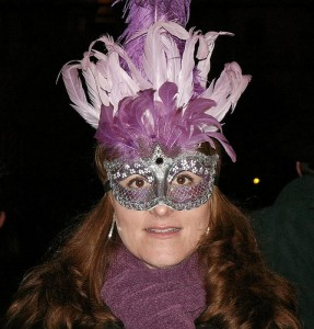 Kathy at Carnevale