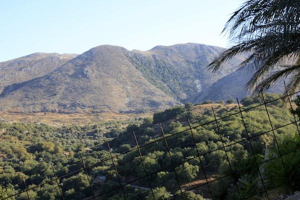 View from Kastellos Village