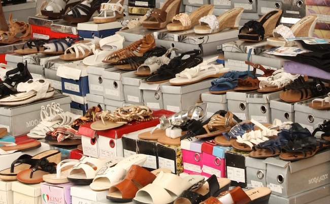 Poggioreale Market - Naples Shoe Alley