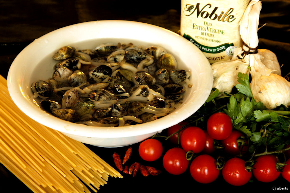 Spaghetti con le Vongole Ingredients