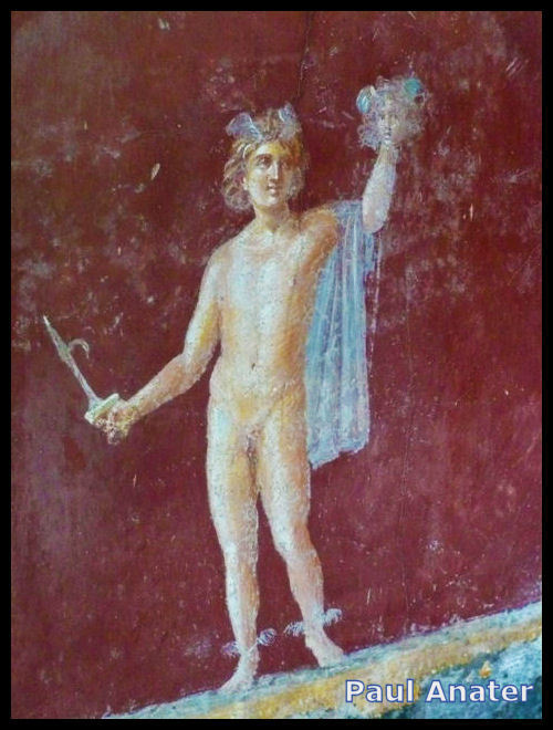 Perseus holding the head of Medusa from the Stabian Villa, Villa San Marco
