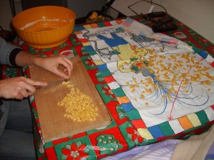 Neapolitan Struffoli - Preparing the Dough