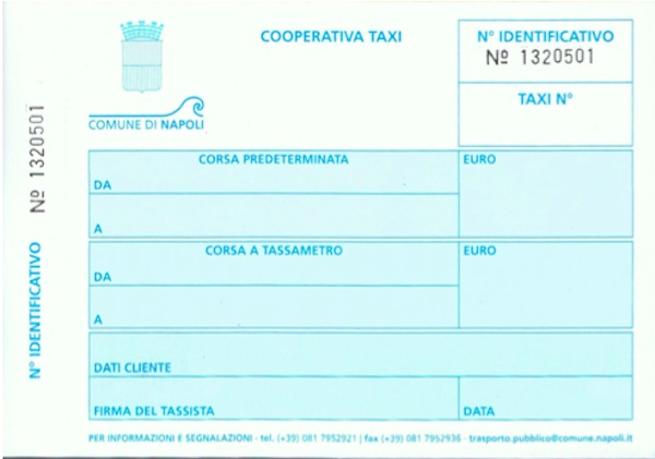 Naples Taxis Napoli Unplugged