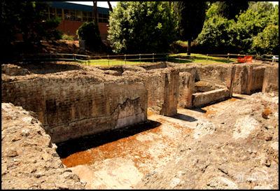Thermal Baths Fuorigrotta - The Vestibule and Frigidarium
