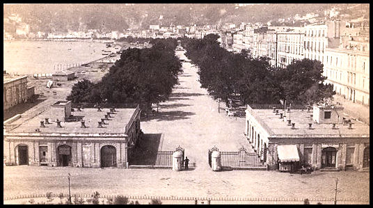 Naples Villa Comunale Park - Historic Photo