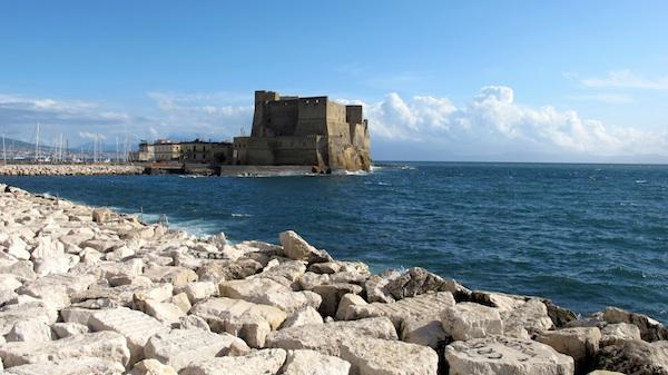 Castel dell'Ovo from Lungomare