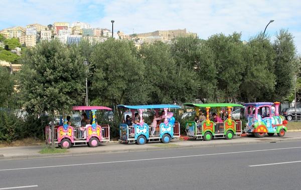 Children's Train at Villa Comunale Park