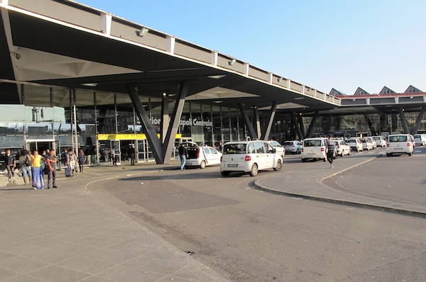 Taxi Rank and Entrance to Stazione Centrale