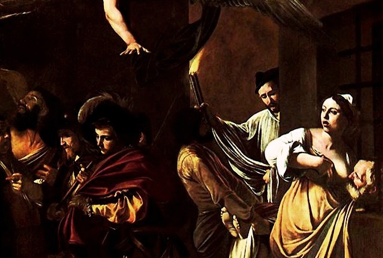 Caravaggio Seven Acts of Mercy
