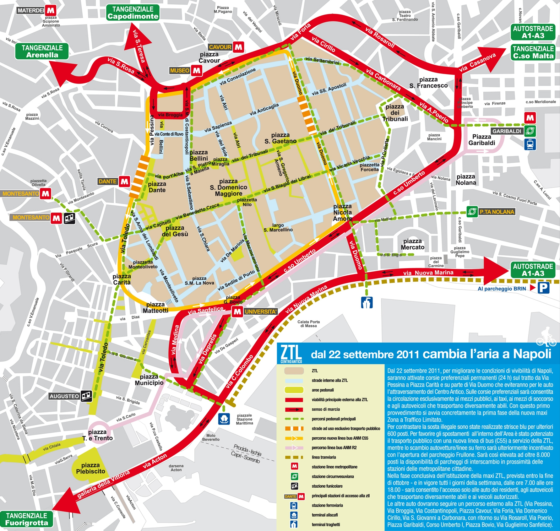 Limited Traffic Zone – Naples Centro Storico
