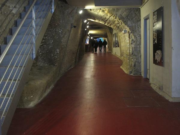 Entrance to Parcheggio Morelli