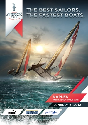 Countdown to Americas Cup – Teams Begin Arriving in Naples
