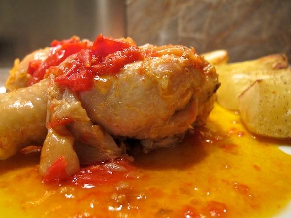 Pollo alla Cacciatora Napoletana