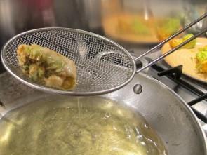 Cooking with Giuseppe - Pasta Cresiuta and Fiori di Zucca Fritti