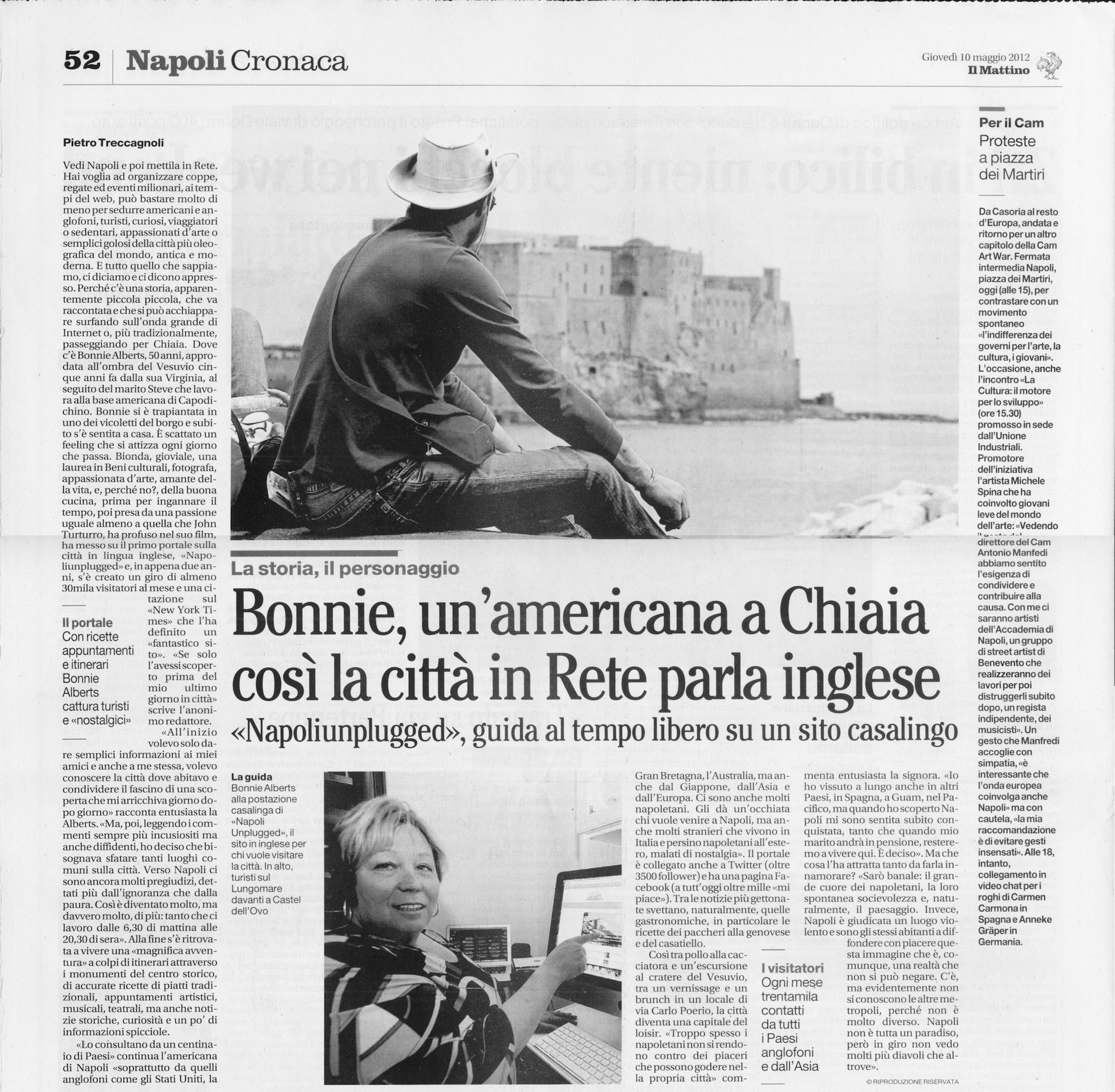 An Interview by the Il Mattino