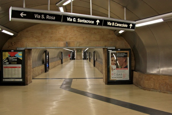 Salvator Rosa Metro Art Station