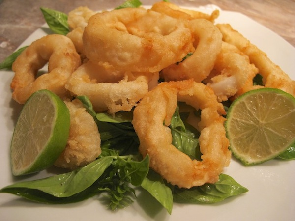 Calamari Fritti - Fried Squid