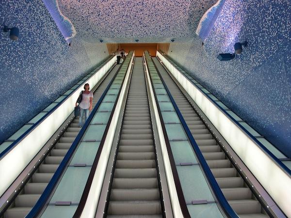 The Toledo Metro Station