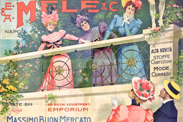 The Mele Posters at Capodimonte