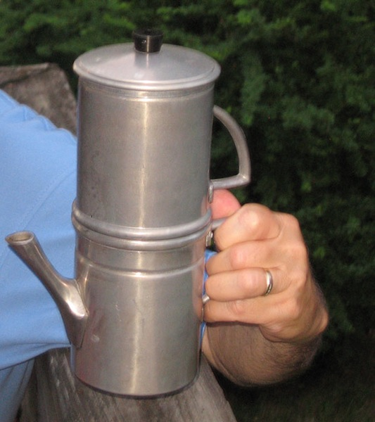 The Neapolitan Flip-Over Coffee Pot