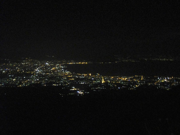 Vesuvius at Night