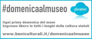 #domenicaalmuseo - Sunday at the Museum