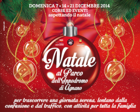 Christmas in the saddle – Christmas at the Hippodrome Park of Agnano