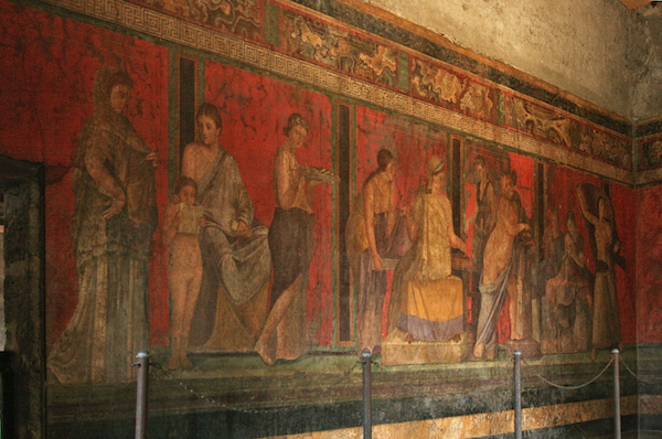 Villa dei Misteri at Pompeii re-opened after restoration