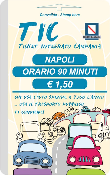 Naples Metro Tickets and Bus Tickets - Napoli Unplugged