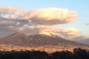 SnowCapped Vesuvius