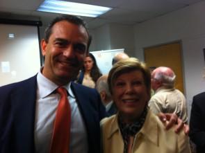 Mayor de Magistris and Ann